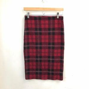 TopShop stretch bodycon pencil skirt